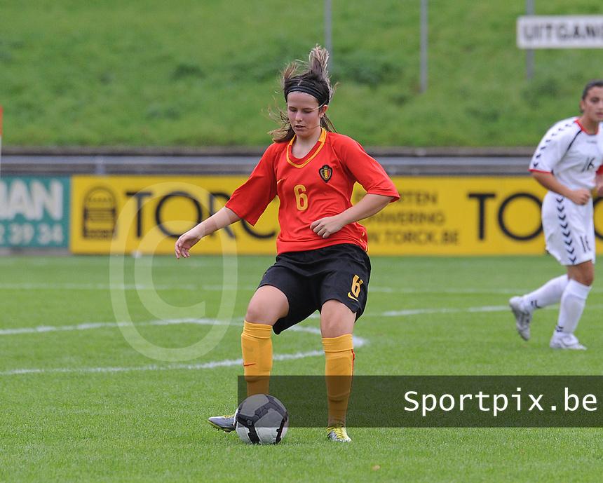 Belgium U17 - Armenia U17 : Maria Laura Aga<br /> foto Joke Vuylsteke / nikonpro.be