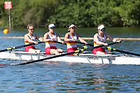 Race: 5  Event: Aspirational Club 4-<br /> Crew: 99  Club: Tideway Scullers Sch<br /> <br /> Henley Women's Regatta 2018<br /> Friday<br /> <br /> To purchase this photo, or to see pricing information for Prints and Downloads, click the blue 'Add to Cart' button at the top-right of the page.