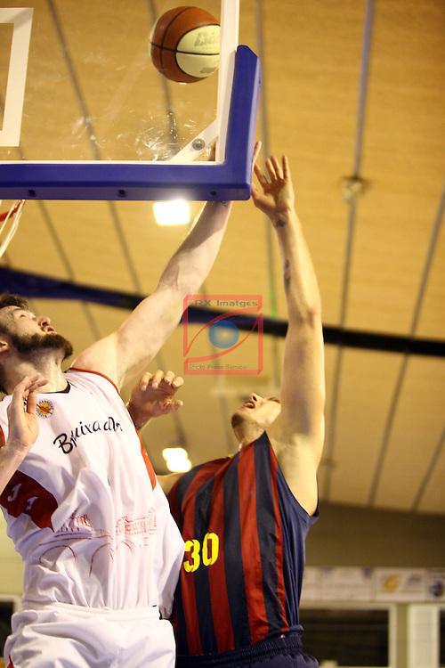 Regal XXXV Llia Nacional Catalana ACB 2014-Semifinals.<br /> FC Barcelona vs La Bruixa d'Or Manresa: 82-66.<br /> Andrew James Ogilvy vs Maciej Lampe.
