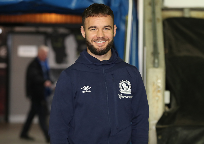 Blackburn Rovers' Adam Armstrong<br /> <br /> Photographer Rachel Holborn/CameraSport<br /> <br /> The EFL Sky Bet Championship - Wigan Athletic v Blackburn Rovers - Wednesday 28th November 2018 - DW Stadium - Wigan<br /> <br /> World Copyright © 2018 CameraSport. All rights reserved. 43 Linden Ave. Countesthorpe. Leicester. England. LE8 5PG - Tel: +44 (0) 116 277 4147 - admin@camerasport.com - www.camerasport.com
