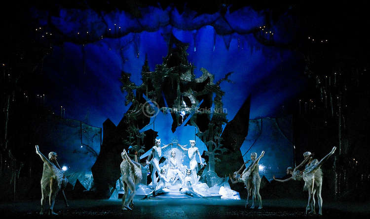 English National Ballet. Snow Queen. Choreographer Michael Corder