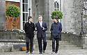 Noel Gallagher, Lord Henry Mount Charles and Jem ArcherNoel Gallagher, walk the grounds of Slane Castle, after it was announced that Oasis will be playing there Saturday June 20th, 2009. (Subject to License). Photo/Paul McErlane