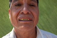 Javier Luna Hernandez's gold plated teeth in San Juan Chamula. Arquitectura Libre / Free Architecture, Chiapas, Mexico