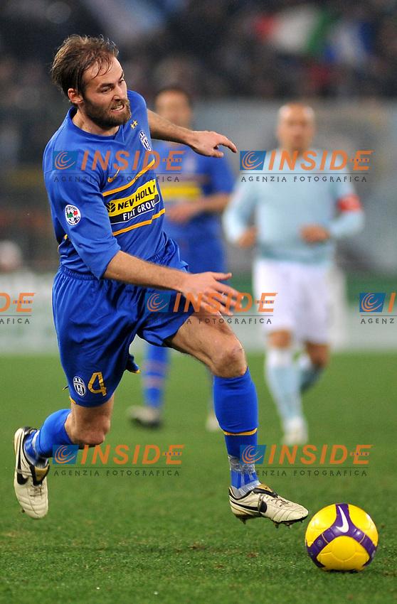 Olof Mellberg (Juventus)<br /> Roma 18/1/2009 Stadio &quot;Olimpico&quot; <br /> Campionato Italiano Serie A 2008/2009 <br /> Lazio Juventus (1-1)<br /> Massimo Oliva /Insidefoto