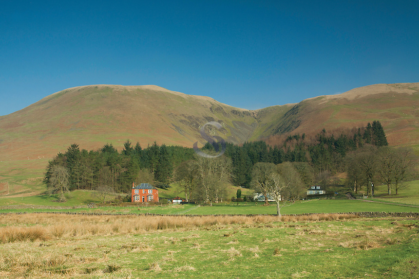 Corehead and Great Hill on the Annandale Way, Galloway