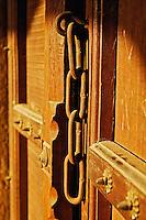 Chain, Door, Doorway, New Delhi, Tomb, Mohammed Shah, Lodhi Gardens, India