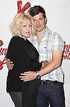 Cyndi Lauper & Stephen Oremus attending the Meet & Greet the Cast & Creative Team of the New Broadway Musical 'Kinky Boots' at the New 42nd Street Studios in New York City on September 14, 2012.
