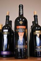 Bottle of Malbec Bodega Del Fin Del Mundo - The End of the World - Neuquen, Patagonia, Argentina, South America