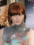 Bryce Dallas Howard at The Warner Brothers Pictures U.S. Premiere of Terminator Salvation held at The Grauman's Chinese Theatre in Hollywood, California on May 14,2009                                                                     Copyright 2009 DVS / RockinExposures