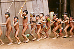 Ceremonial dance of the Yanomamo, Parima Tapirapeco National Park, Venezuela