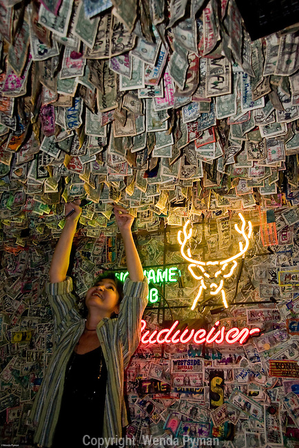 A fun & quirky place is  No Name Pub on No Name Key - just be sure to hang a dolar bill!