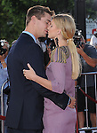 Heather Morris and boyfriend attends The 20th Century Fox - GLEE 3D Concert World Movie Premiere held at The Regency Village theatre in Westwood, California on August 06,2011                                                                               © 2011 DVS / Hollywood Press Agency
