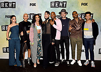 "RENT: JAN 15, 2019: (L-R) Vanessa Hudgens, Kiersey Clemons, Tinashe, Valentina, Brandon Victor Dixon, Brennin Hunt, Mario, and Jordan Fisher attend FOX'S ""RENT"" Sing-Along YouTube Event at the YouTube Space on January 15, 2019, in Los Angeles, California. (Photo by Frank Micelotta/Fox/PictureGroup)"