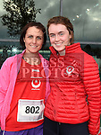 Philippa and Blathnaid Donnelly who took part in the SOSAD 5K run. Photo:Colin Bell/pressphotos.ie