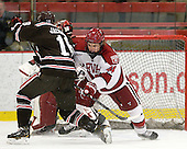 Ryan Jacobson (Brown - 18), Max Everson (Harvard - 44) - The Harvard University Crimson defeated the visiting Brown University Bears 3-2 on Friday, November 2, 2012, at the Bright Hockey Center in Boston, Massachusetts.