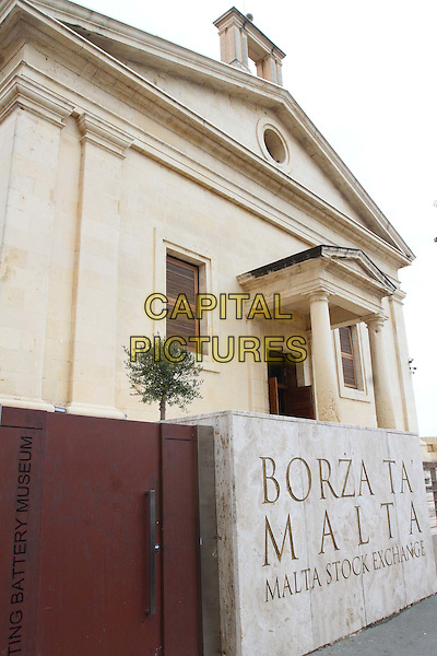 Stock Exchange in Valletta, Malta - on Thursday and Friday January 29th and 30th 2015<br /> CAP/ROS<br /> &copy;Steve Ross/Capital Pictures