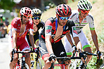 Damiano Caruso (ITA) BMC Racing Team from the breakaway group in action during Stage 11 of the 2018 Tour de France running 108.5km from Albertville to La Rosiere Espace San Bernardo, France. 18th July 2018. <br /> Picture: ASO/Pauline Ballet   Cyclefile<br /> All photos usage must carry mandatory copyright credit (&copy; Cyclefile   ASO/Pauline Ballet)