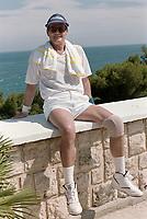 ARCHIVE: MONACO:  JUNE 1988: Roger Moore at celebrity tennis tournament in Monaco.<br /> File photo © Paul Smith/Featureflash