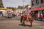 Fifth annual Veterans Day Parade on historic Main Street in the Mother Lode community of Jackson, Calif. <br /> <br /> The parade was revitalized in 2009 by American Legion Post 108 of Amador County to celebrate the anniversary of their founding in 1929 and establishment of their Ambulance Service in Amador County in 1929, the only American Legion Post with such a service in the U.S.