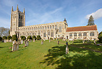 Holy Trinity Church, Long Melford, Suffolk, England, UK Perpendicular Gothic architecture built between 1467-1497