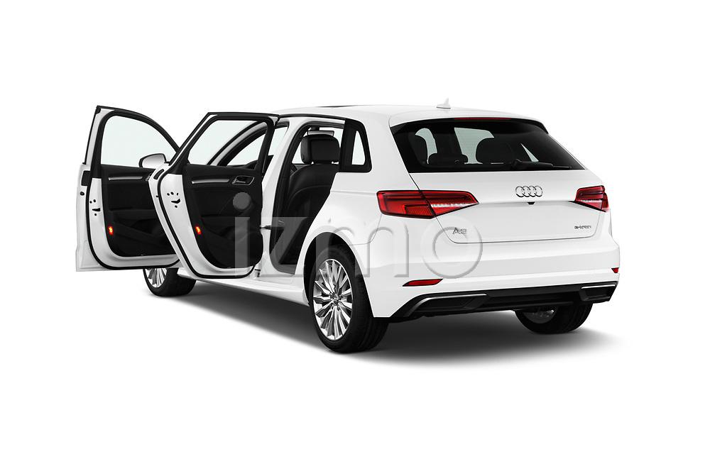 Car images close up view of 2017 Audi A3 Sportback e tron Premium  5 Door Hatchback doors