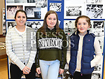 Natalia Mokrauz, Nadia Kelly and Mai Byrne at the Drogheda School of Karate at their photo exhibition celebrating 50 years in existence.  Photo:Colin Bell/pressphotos.ie
