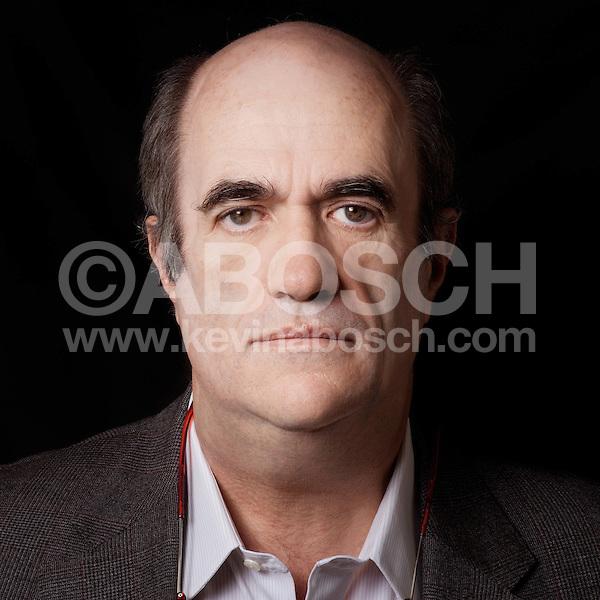Portrait of Colm Tóibín photographed by Kevin Abosch