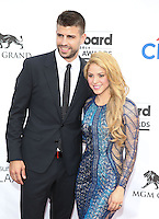 LAS VEGAS, NV - May 18 : gerard Piqué and Shakira pictured at 2014 Billboard Music Awards at MGM Grand in Las Vegas, NV on May 18, 2014. © Kabik/ Starlitepics