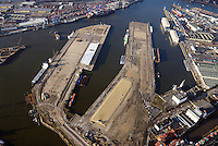 Hamburg Hafenflaechen Steinwerder: EUROPA, DEUTSCHLAND, HAMBURG, (EUROPE, GERMANY), 26.12.2014: Hamburg Hafenflaechen Steinwerder, Ellerholz Terminal, Kuhwerder Terminal