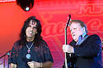 Alice Cooper and Dick Wagner..at the 9th Annual Alice Cooper Celebrity Golf Tournament in Scottsdale, Arizona, May 1st 2005.  Photo by Chris Walter/Photofeatures.