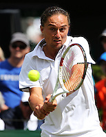 ALEXANDR DOLGOPOLOV (UKR)<br /> <br /> The Championships Wimbledon 2014 - The All England Lawn Tennis Club -  London - UK -  ATP - ITF - WTA-2014  - Grand Slam - Great Britain -  25th. June 2014. <br /> <br /> &copy; J.Hasenkopf / Tennis Photo Network