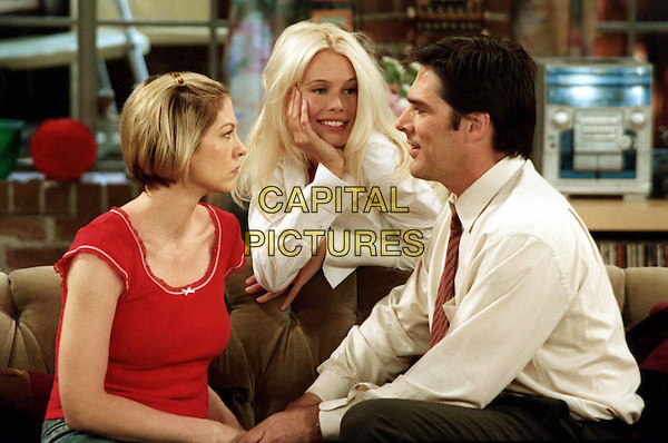 """JENNA ELFMAN, CLAUDIA SCHIFFER & THOMAS GIBSON.in Dharma & Greg.""""I Think Therefore I Am In Trouble"""".Ref: FB.*Editorial Use Only*.www.capitalpictures.com.sales@capitalpictures.com.Supplied by Capital Pictures."""