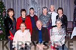 Lifelong friends celebrating Christmas in the Dromhall Hotel on Saturday night front row l-r: Martina O'Leary, Eamon Condon, Maura McCarthy. Back row: Mags Casey, Eileen Mitchell, Jerry O'Leary, Margaret Condon, Gary and Anne Browne