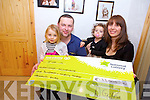 Andrijana McCormack from Camp, pictured with husband Joey and children Mya Fay and Matea won the life changing €133k on the RTE gameshow winning Streak on Saturday night.