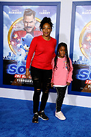 """LOS ANGELES - FEB 12:  Tiffany Haddish, goddaughter Cadence at the """"Sonic The Hedgehog"""" Special Screening at the Village Theater on February 12, 2020 in Westwood, CA"""