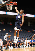 Josh Hairston handles the ball during the 2009 NBPA Top 100 Basketball Camp held Friday June 17- 20, 2009 in Charlottesville, VA. Photo/ Andrew Shurtleff