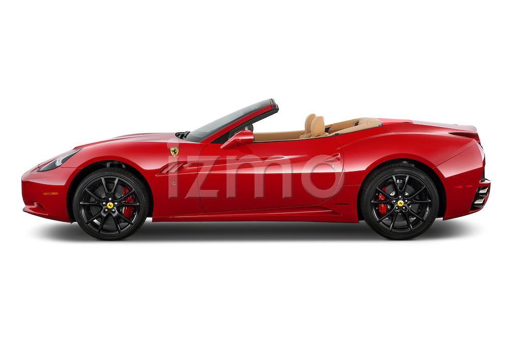 Driver's side profile view of a 2014 Ferrari California Convertible