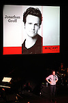 Jonathan Groff .performing in 'MISCAST 2012' MCC Theatre's Annual Musical Spectacular at The Hammerstein Ballroom in New York City on 3/26/2012.