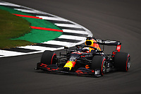 1st August 2020, Silverstone, Northampton, UK; FIA Formula One World Championship 2020, Grand Prix of Great Britain,  qualifying;  33 Max Verstappen NLD, Aston Martin Red Bull Racing takes 3rd on pole
