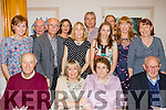 Mighty Eighty<br /> ------------------<br /> Mary Stack, Ardfert (seated 2nd Rt) had a great night celebrating her 80th birthday last Friday in the Ballyroe  Heights hotel pictured here with most of her family