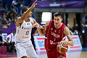 7th September 2017, Fenerbahce Arena, Istanbul, Turkey; FIBA Eurobasket Group D; Belgium versus Serbia; Shooting Guard Bogdan Bogdanovic #7 of Serbia drives to the basket during the match