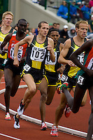 EUGENE, OR--Dathan Ritzenhein, 102, competes in the mens 2 mile during the Steve Prefontaine Classic, Hayward Field, Eugene, OR. SUNDAY, JUNE 10, 2007. PHOTO © 2007 DON FERIA