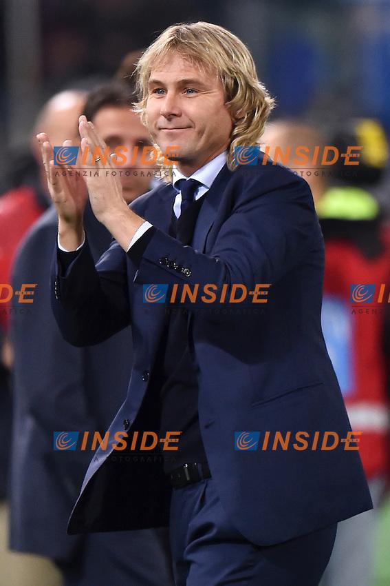 Pavel Nedved <br /> Roma 22-11-2014 Stadio Olimpico, Football Calcio Serie A . Lazio - Juventus. Foto Andrea Staccioli / Insidefoto