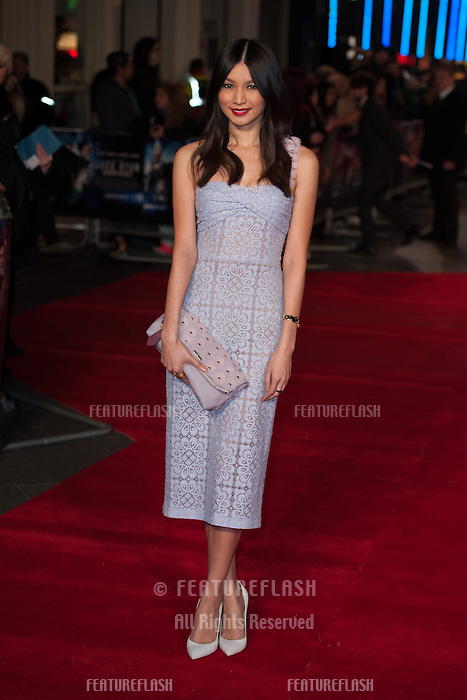 Gemma Chan arriving for the UK Premiere of Jack Ryan, at Vue Leicester Square, London. 20/01/2014 Picture by: Dave Norton/ Featureflash
