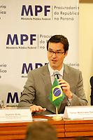 CURITIBA, PR, 17.03.2017 – LAVA JATO – Deltan Dallagnol, Procurador da República durante coletiva de imprensa na manha desta sexta-feira (17) na sede do MPF em Curitiba (PR).  (Foto: Paulo Lisboa/Brazil Photo Press)