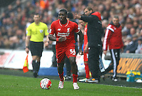 Sheyi Ojo of Liverpool during the Barclays Premier League match between Swansea City and Liverpool played at the Liberty Stadium, Swansea on 1st May 2016