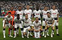 Football Soccer: UEFA Champions League FC Internazionale Milano vs Tottenham Hotspur FC, Giuseppe Meazza stadium, September 15, 2018.<br /> Tottenham Hotspur players pose for the pre match photograph prior to the Uefa Champions League football match between Internazionale Milano and Tottenham Hotspur at Giuseppe Meazza (San Siro) stadium, September 18, 2018.<br /> UPDATE IMAGES PRESS/Isabella Bonotto