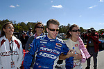AJ Allmendinger and Katherine Legge at the Champ Car Grand Prix of Road America, 2006<br /> <br /> Please contact me for the full-size image<br /> <br /> For non-editorial usage, releases are the responsibility of the licensee.