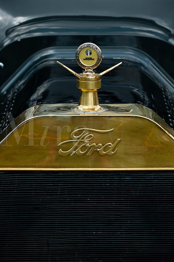 Model T Ford grill detail.