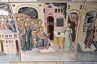BG51481.JPG BULGARIA, BATCHKOVO MONASTERY, CHURCH OF SVETA-BOGORODITSA , 1604, frescoes